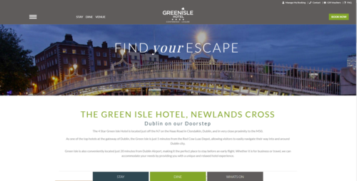 Green Isle Hotel New Website